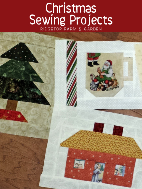Christmas Sewing Title
