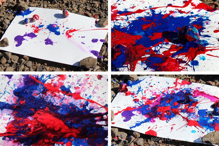 Quail Eggs Painting