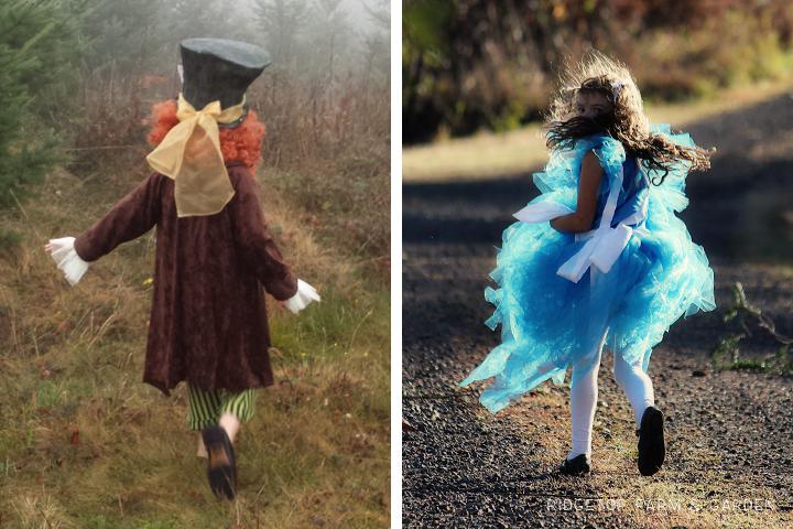 Alice in Wonderland costume 1