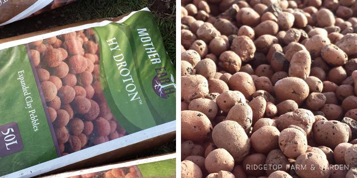 Ridgetop Farm & Garden | Aquaponics Update April 2014 | Expanded Clay Pebbles