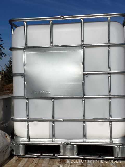 Aquaponics Update Jan2014 275 Gallon IBC totes