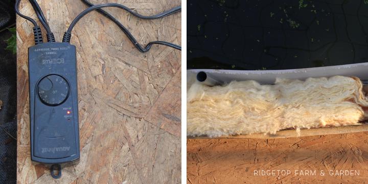 Ridgetop Farm & Garden | Aquaponics Update May 2014 | Heating the Water