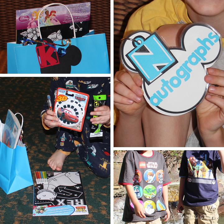 Ridgetop Farm & Garden | Disney Goodie Bags | Day 1