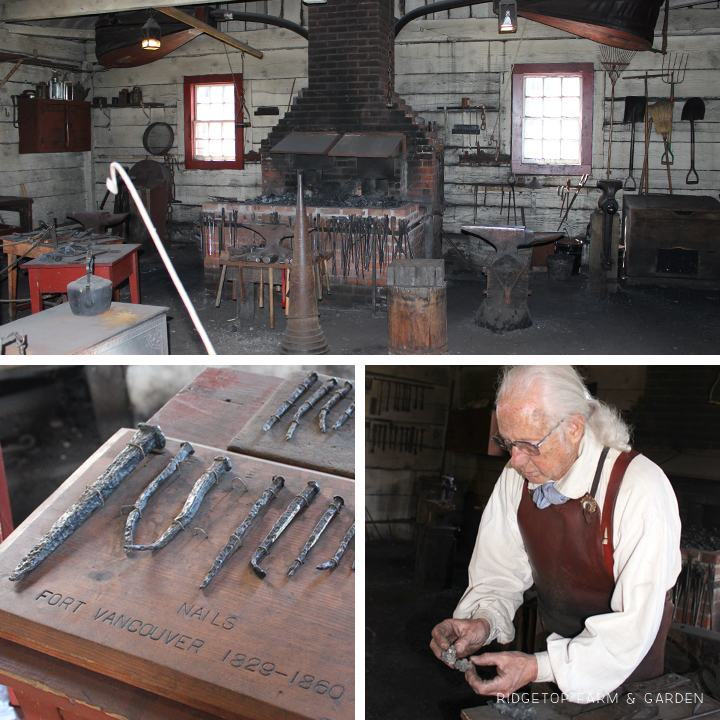 Ridgetop Farm & Garden | Fort Vancouver | Blacksmith