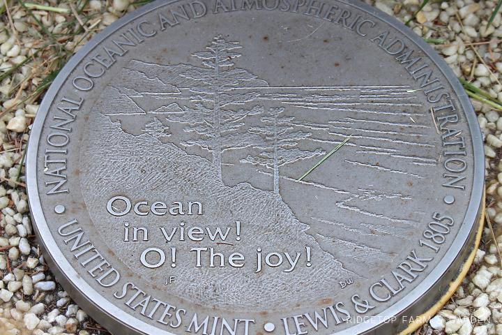 Lewis Clark Interpretive Center coin