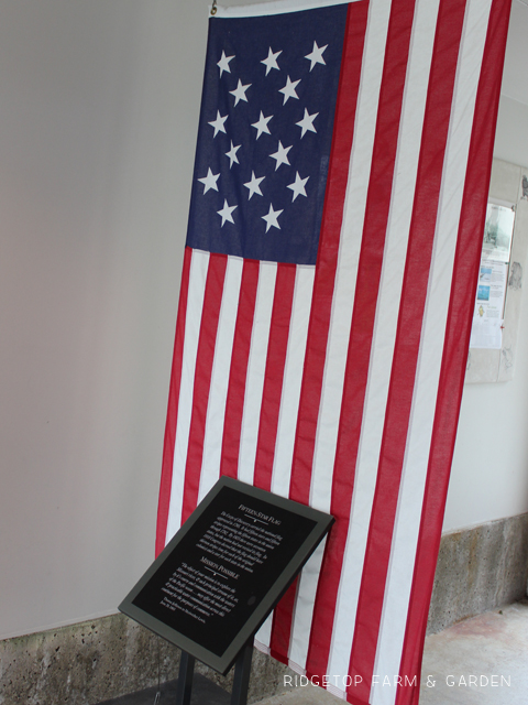Lewis Clark Interpretive Center flag