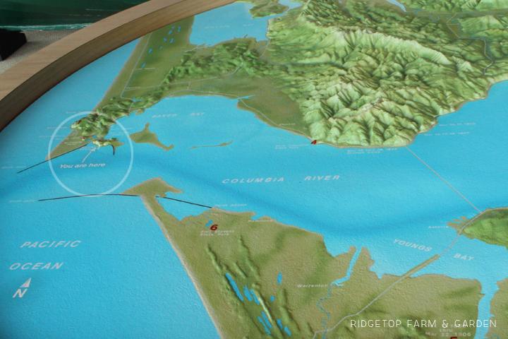 Lewis Clark Interpretive Center map