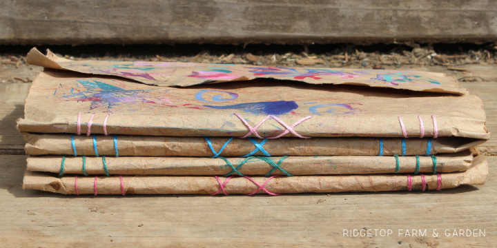 Ridgetop Farm & Garden | Making Letterbox Journals