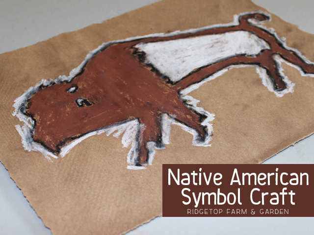 Ridgetop Farm & Garden | Native American Symbol Craft