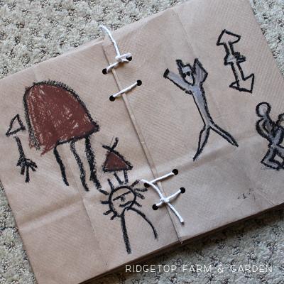 Native American Parfleche Bag Craft