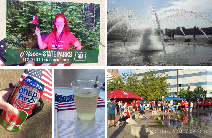 Riegetop Farm & Garden | Race Recap | Red White Blues 10k