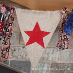 No Sew Star Bunting