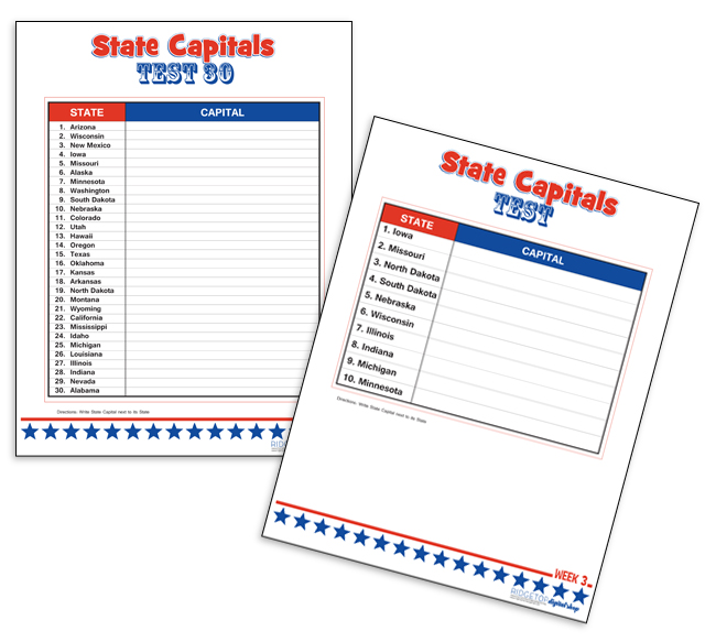 Ridgetop Farm and Garden | Learn State Capitals | free printable
