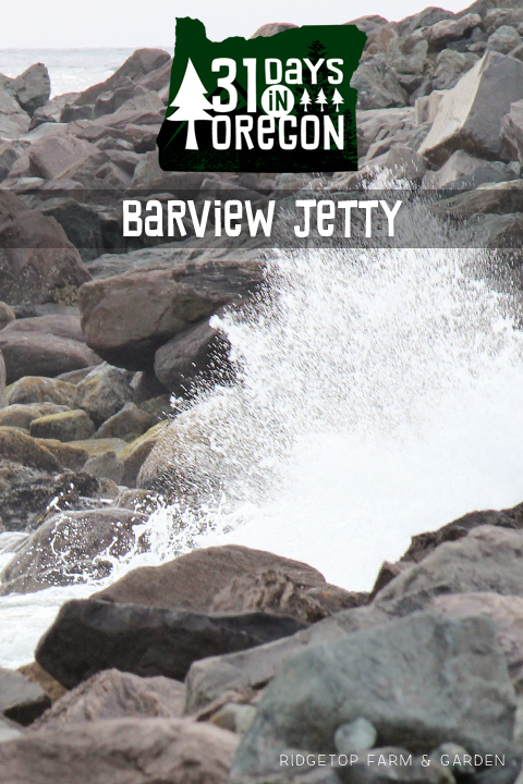 Ridgetop Farm and Garden | 31 Days in Oregon | Barview Jetty