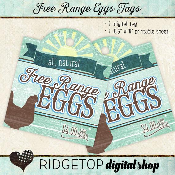 Ridgetop Digital Shop | Tags | Free Range Eggs | For Sale |$4 | Dozen
