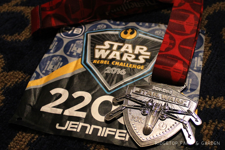 Ridgetop Farm and Garden | Race Recap | Star Wars 10K | Disneyland