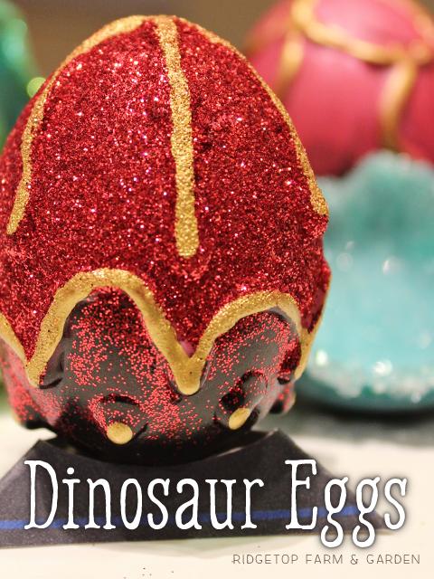 Ridgetop Farm and Garden | Dinosaur Eggs | Craft