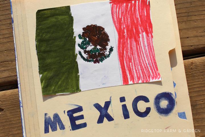 Ridgetop Farm and Garden | Home School | Lapbook | Mexico