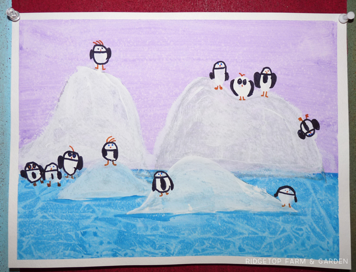 Ridgetop Farm and Garden | Penguin Painting