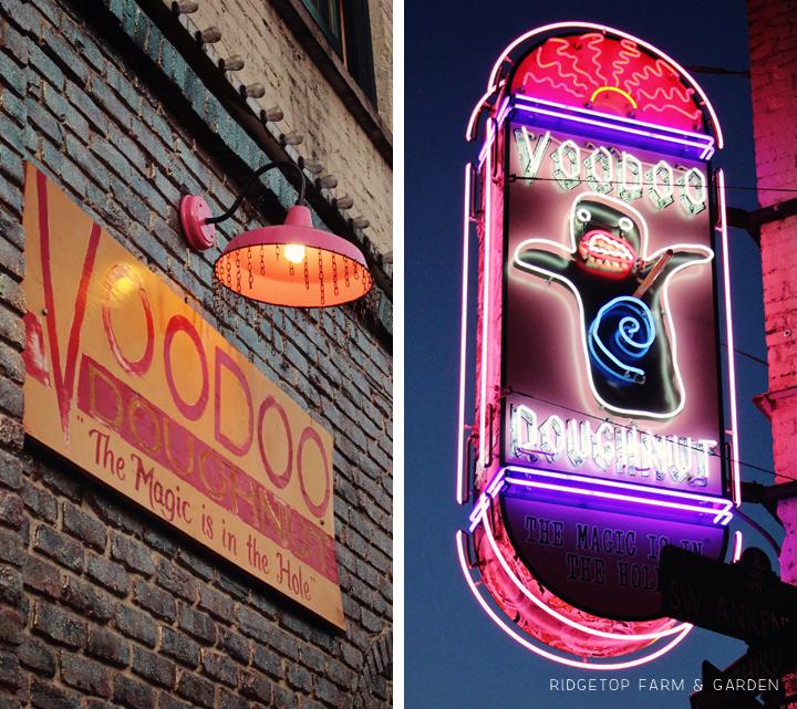 Ridgetop Farm and Garden | 31 Days in Oregon | Voodoo Doughnut | Portland