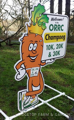 Ridgetop Farm and Garden |2016 Race Recap | ORRC| Champoeg 10K