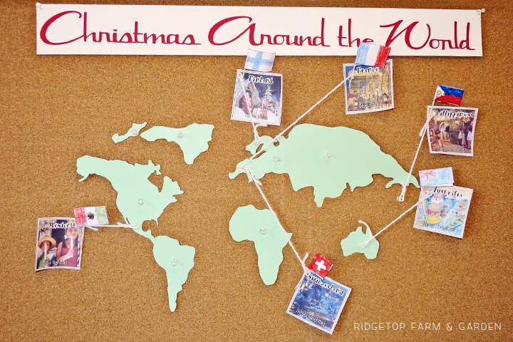 Ridgetop Farm and Garden | Home School | Christmas Around the World