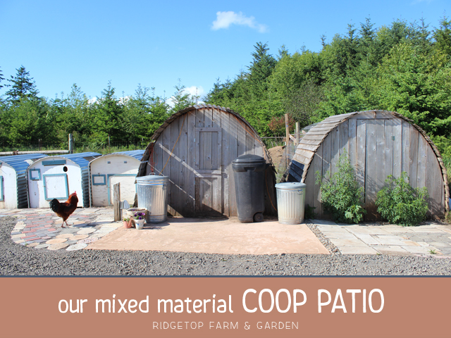 Ridgetop Farm and Garden | Mixed Material | Cement | Coop Patio