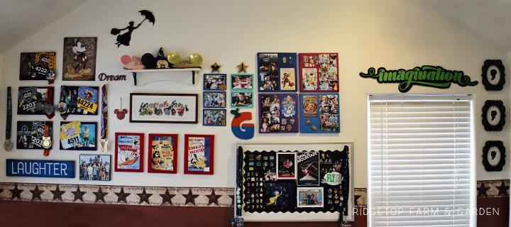 Ridgetop Farm and Garden   Disney Gallery Wall