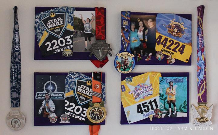 Ridgetop Farm and Garden   Disney Gallery Wall   Run Disney Race Canvas