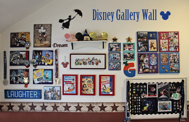 Ridgetop Farm and Garden | Disney Gallery Wall