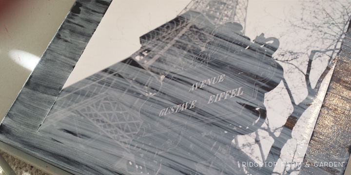 Eiffel Tower Canvas Duo - 2