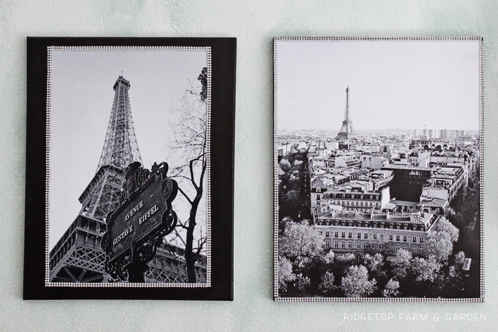 Eiffel Tower Canvas Duo - 4