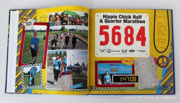Ridgetop Farm and Garden | Running | Road to a Half Marathon Photo Book | Hippie Chick 2013