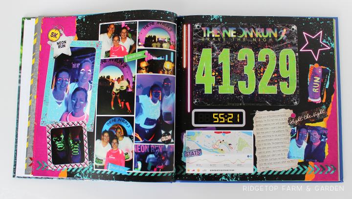 Ridgetop Farm and Garden | Running | Road to a Half Marathon Photo Book | Neon Run 2013