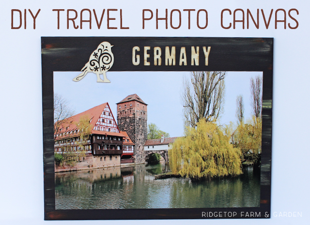 Ridgetop Farm and Garden | Ridgetop Digital Shop | Travel Photo Canvas | Germany