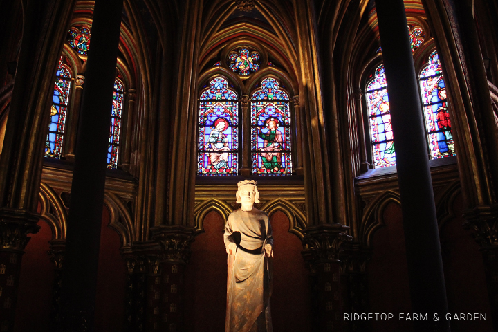 Ridgetop Farm and Garden | Travel | Europe | Paris | Sainte Chapelle