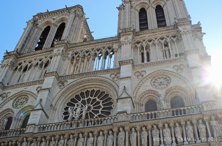 Ridgetop Farm and Garden | Travel | Europe | Paris | Notre Dame Cathedral
