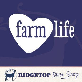 Ridgetop Farm Shop | I Heart Farm Life Vinyl Decal
