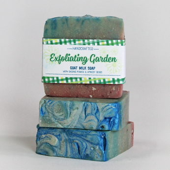 Ridgetop Farm and Garden | Goat Milk Soap | Exfoliating Garden