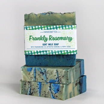 Ridgetop Farm and Garden | Goat Milk Soap | Frankly Rosemary