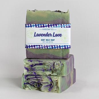 Ridgetop Farm and Garden | Goat Milk Soap | Lavender Love