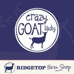 Ridgetop Farm Shop • Crazy Goat Lady Vinyl Decal