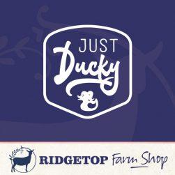 Ridgetop Farm Shop | Just Ducky Vinyl Decal