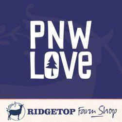 Ridgetop Farm Shop | Pacific Northwest Vinyl Decal
