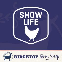 Ridgetop Farm Shop | Chicken Show Life Vinyl Decal