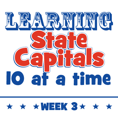 Learning State Capitals – Week 3