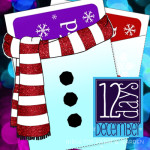 12 Days: Let it Snow Gift Card Holders Printable