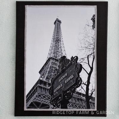 Eiffel Tower Canvas Duo