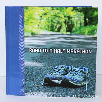 Road to a Half Marathon Photo Book