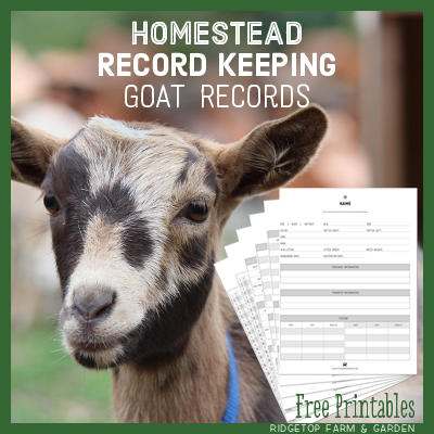Printable Goat Records